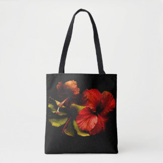 Bolsa Tote the flowers are in the air