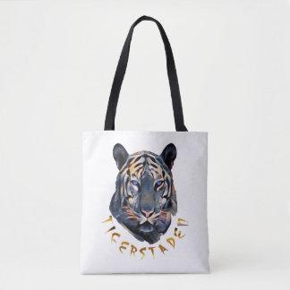 Bolsa Tote Tigre azul