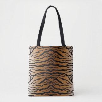 Bolsa Tote Tigre preto de Brown