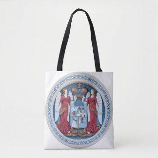 Bolsa Tote timiso ortodoxo do estuque do símbolo da religião