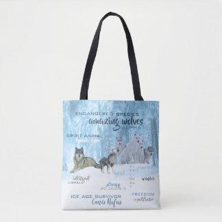 Bolsa Tote Tipografia surpreendente | dos lobos personalizado