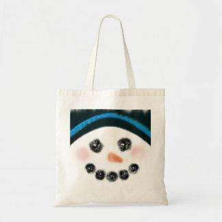 Bolsa Tote Tiro de caneca do boneco de neve