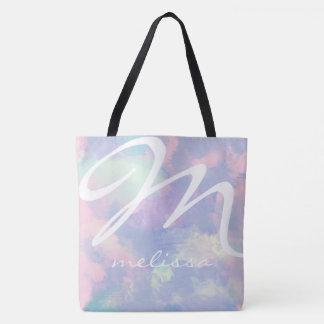 Bolsa Tote toda sobre - imprima a sacola da aguarela do lilac