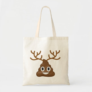 Bolsa Tote Tombadilho Emoji com Antlers