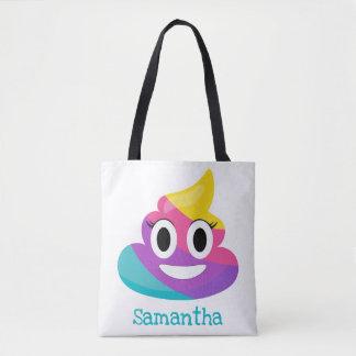 Bolsa Tote Tombadilho Emoji do arco-íris