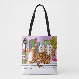 Bolsa Tote Top Cat contrário