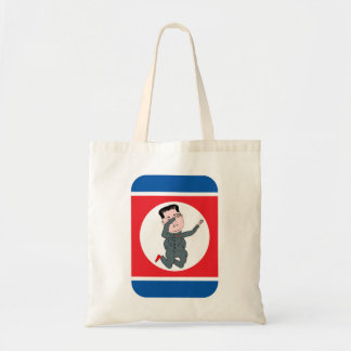 Bolsa Tote Toque ligeiro do Un de Kim Jong da Coreia do Norte