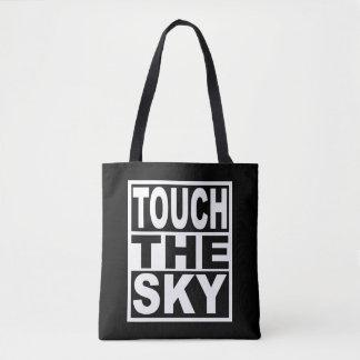 Bolsa Tote Toque no céu
