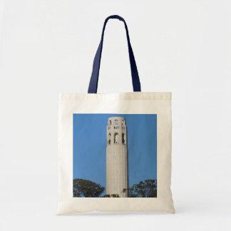Bolsa Tote Torre de Coit, sacola de San Francisco #6