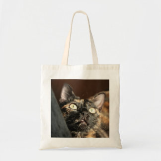 Bolsa Tote tortoiseshell cat bag