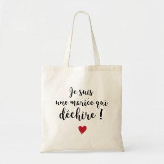 Bolsa Tote Tote Bag - Noiva que rasga