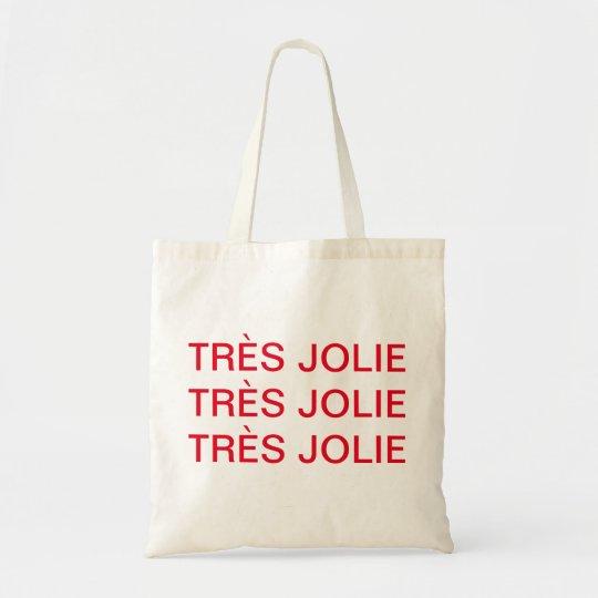 Bolsa Tote Tote Bag - TRÈS JOLIE