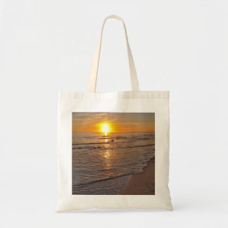 Bolsa Tote ToteBag: Por do sol pela praia