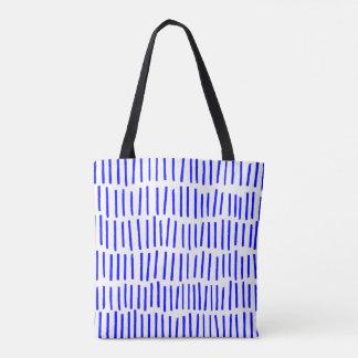 Bolsa Tote Traço azul moderno de Scandi