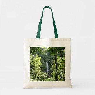 Bolsa Tote Trafalgar cai fotografia tropical da floresta