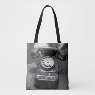 Bolsa Tote Tragetasche - Retro Phone
