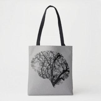Bolsa Tote Tree Brain