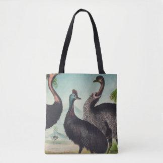 Bolsa Tote Trio das avestruzes