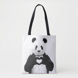 Bolsa Tote Tudo que você precisa é amor