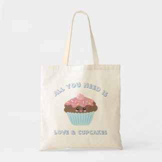 Bolsa Tote Tudo que você precisa é cores Pastel do amor e dos