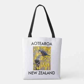 Bolsa Tote tuis gêmeos de Nova Zelândia do aotearoa