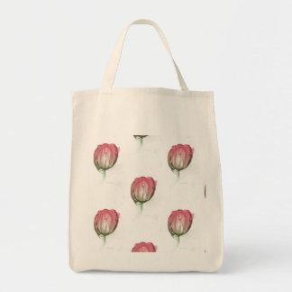 Bolsa Tote Tulipa vermelha