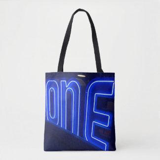 Bolsa Tote Ultravioleta de néon um… e somente