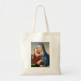 Bolsa Tote Um retrato de Mary e de bebê Jesus