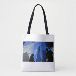 Bolsa Tote Um saco do NYC-Bolsa do obervatório do mundo