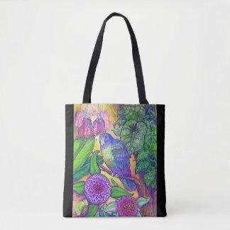 Bolsa Tote Uma beleza tropical dentro profunda, cor rica