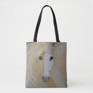 Bolsa Tote Uma sacola com cabeça do Palomino