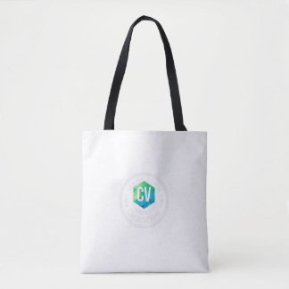 Bolsa Tote Uma sacola feita sob encomenda de carter Vlogs