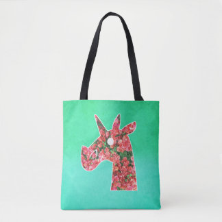 Bolsa Tote Unicórnio do Bougainvillea