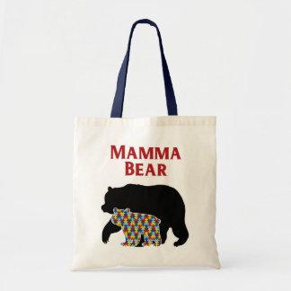 Bolsa Tote Urso das mamães, orgulho da mamã do autismo