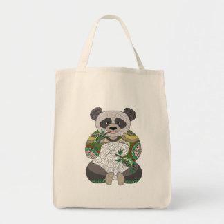 Bolsa Tote Urso de panda