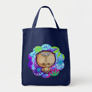 Bolsa Tote Urso do hippy