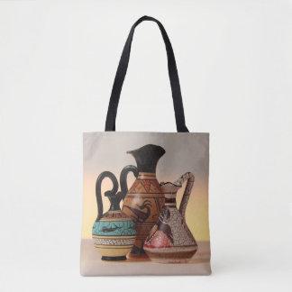 Bolsa Tote Vasos gregos