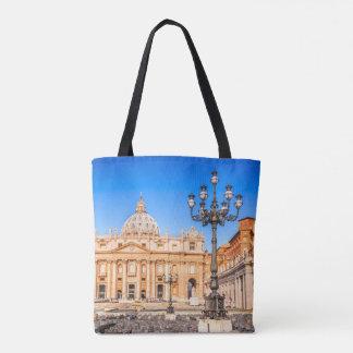 Bolsa Tote Vaticano da sacola do impressão do costume toda