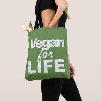 Bolsa Tote Vegan para a VIDA (branca)