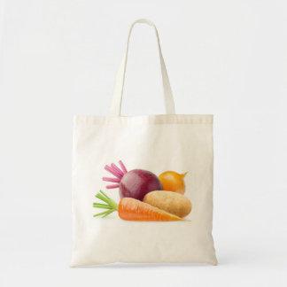 Bolsa Tote Vegetais de raiz