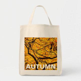 Bolsa Tote Veias douradas do outono