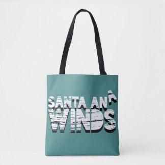 Bolsa Tote Ventos sazonais de Santa Ana