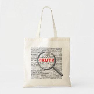 Bolsa Tote Verdade na sacola de Wordel