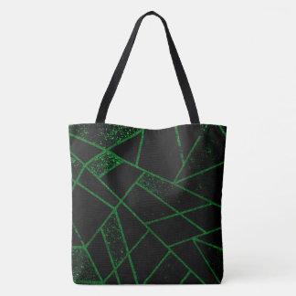 Bolsa Tote Verde #948 abstrato