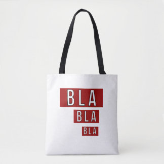 Bolsa Tote Vermelho de Bla Bla Bla