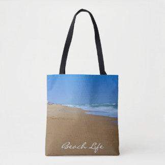 Bolsa Tote Vida bonita da Praia-Praia por Shirley Taylor
