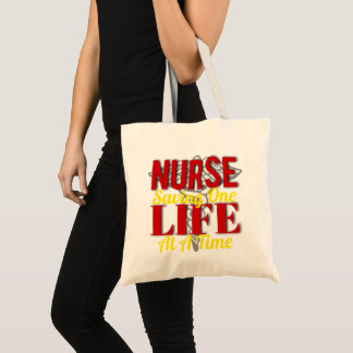 Bolsa Tote Vida da enfermeira