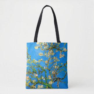 Bolsa Tote Vincent van Gogh - belas artes de florescência da