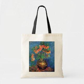 Bolsa Tote Vincent van Gogh - Fritillaries em um vaso de