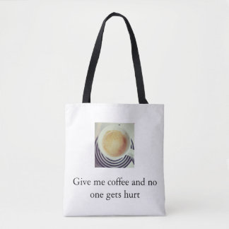 Bolsa Tote Violência do café
